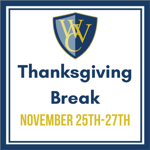 No School- Thanksgiving Break